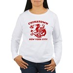 Chinatown New York City Women's Long Sleeve T-Shir