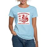 Chinatown New York City Women's Pink T-Shirt