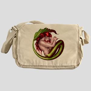 mermaid baby Messenger Bag