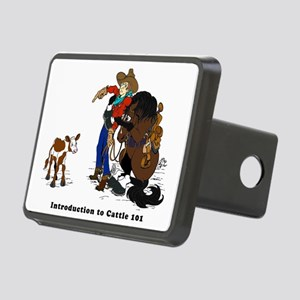 Horse Intro to Cows Rectangular Hitch Cover
