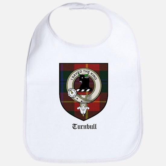 Turnbull Clan Crest Tartan Bib