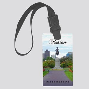 Boston_5.5x8.5_Journal_BostonPub Large Luggage Tag