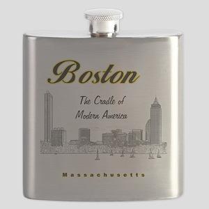 Boston_10x10_Skyline_TheCradleOfModernAmeric Flask