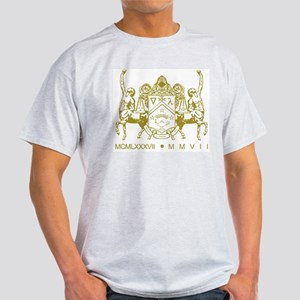 Anniversary Gold Ash Grey T-Shirt