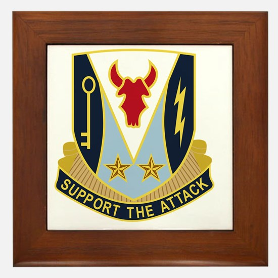 Army 34th Infantry Division Special Tr Framed Tile
