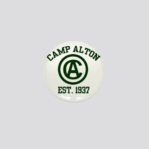 camp alton shirt logo 2 Mini Button