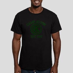 camp alton shirt logo  Men's Fitted T-Shirt (dark)