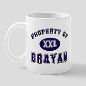 Property of brayan Mug