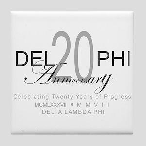 Anniversary 2 Tile Coaster
