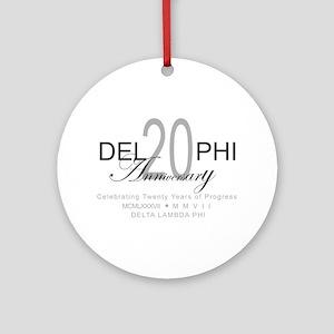 Anniversary 2 Ornament (Round)