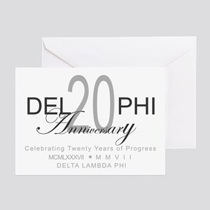 Anniversary 2 Greeting Cards (Pk of 10)