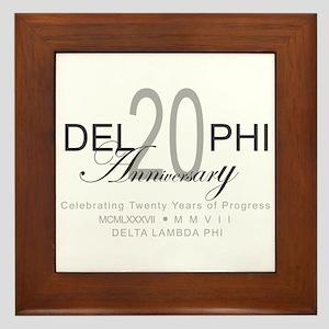 Anniversary 2 Framed Tile