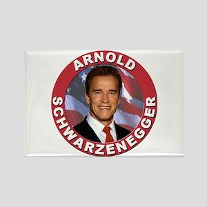 Arnold Schwarzenegger Rectangle Magnet