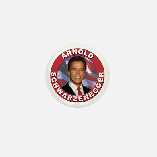Arnold Schwarzenegger Mini Button