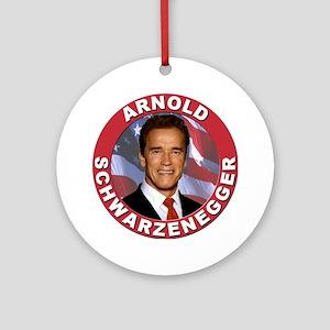 Arnold Schwarzenegger Ornament (Round)