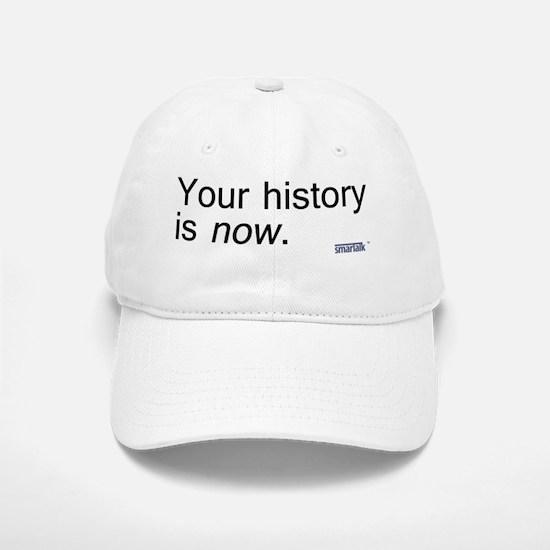 history copy Baseball Baseball Cap