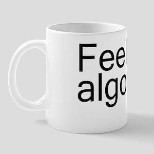 feel algorithm copy Mug