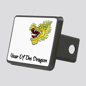dragon60red Rectangular Hitch Cover