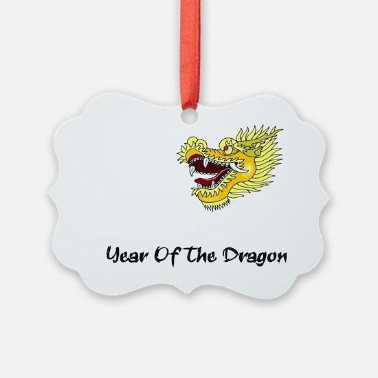 dragon60red Ornament