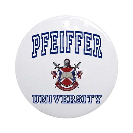 PFEIFFER University Ornament (Round)