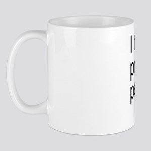 personal pronoun copy Mug