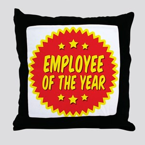 employee-of-the-year-001 Throw Pillow