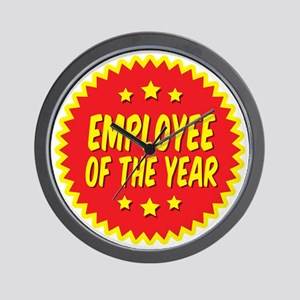 employee-of-the-year-001 Wall Clock