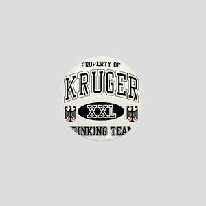 Kruger German Drinking Team Mini Button