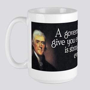 Jefferson_BigGovt Large Mug
