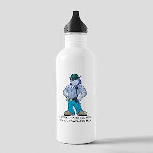 grownassman_Steel Stainless Water Bottle 1.0L