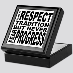 respect Keepsake Box