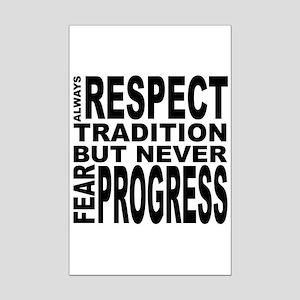 respect Mini Poster Print