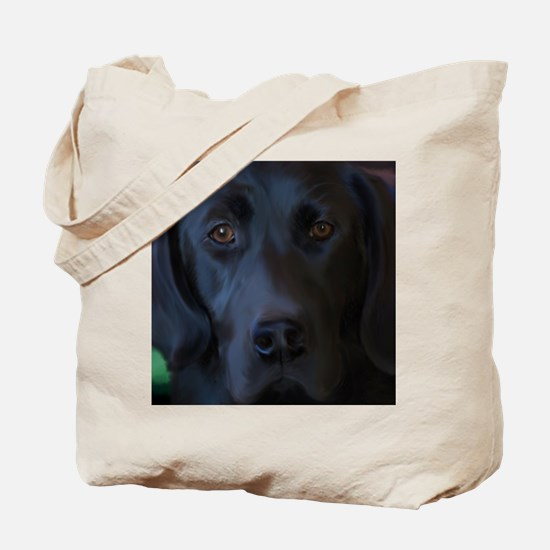 BlackLabFLipFlops Tote Bag