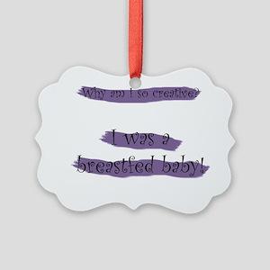 Creative_Breastfed Picture Ornament