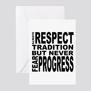 respect Greeting Cards (Pk of 10)
