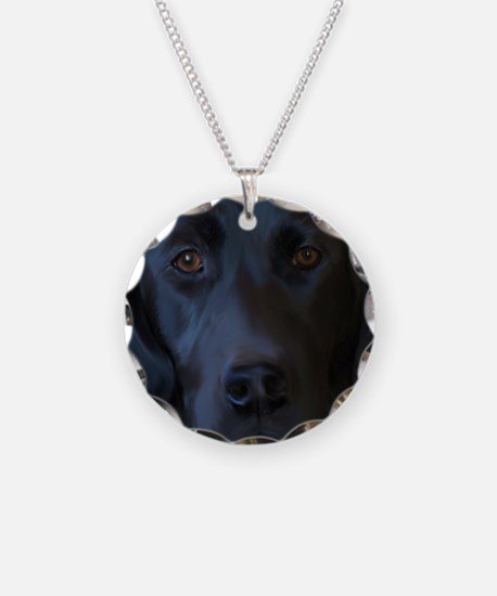 BlackLabFLipFlops Necklace