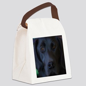 BlackLabFLipFlops Canvas Lunch Bag