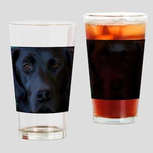 BlackLabFLipFlops Drinking Glass