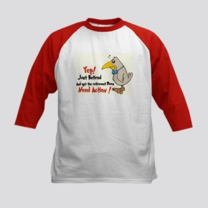 Yep Need Action! :-) Kids Baseball Jersey