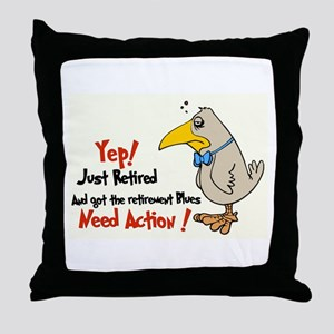 Yep Need Action! :-) Throw Pillow
