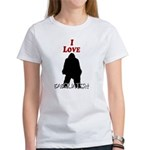 I Love Sasquatch Women's T-Shirt