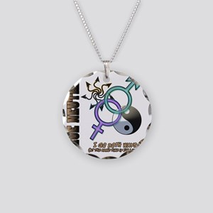 True Neutral CP Necklace Circle Charm
