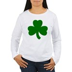 Shamrock ver6 Women's Long Sleeve T-Shirt