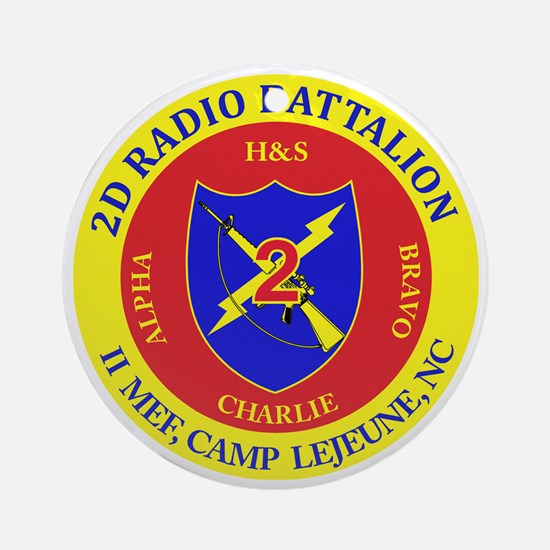 SSI-2ND RADIO BN Round Ornament