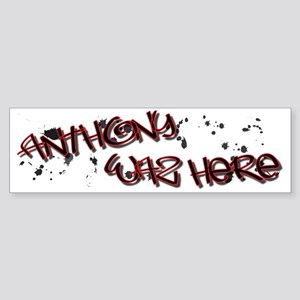 ANTHONYW Sticker (Bumper)