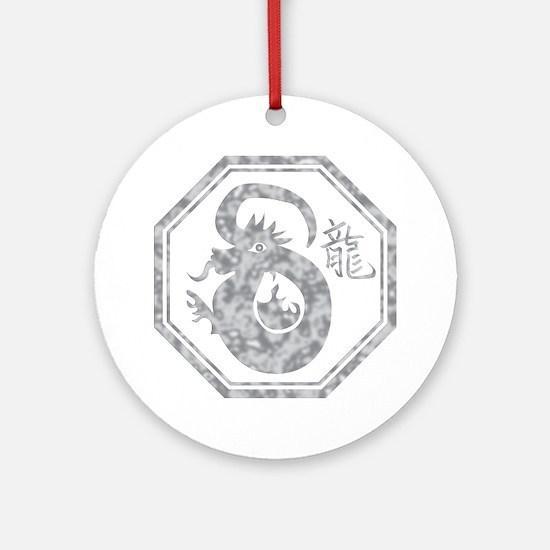 dragon35dark Round Ornament