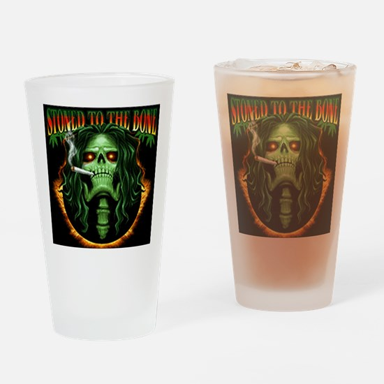 StoneToTheBone Drinking Glass