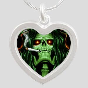 StoneToTheBone Silver Heart Necklace