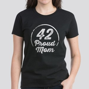 Proud Mom of Number 42 Sports Team T-Shirt