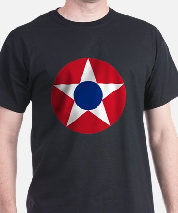 7x7-Roundel_of_the_Costa_Rican_Milita T-Shirt